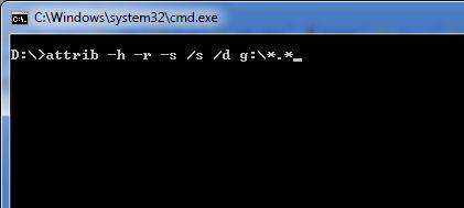 كيف تسترجع الملفات المخفية من الفلاش ميموري USB