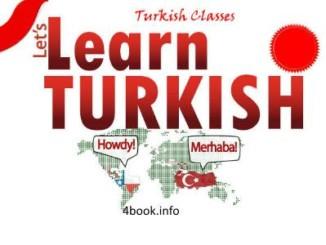 تحميل كتاب تعلم قواعد اللغة التركية